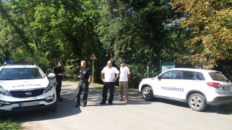 Jelenleg a Szlovák járőrökkel egy felállítási helyen.