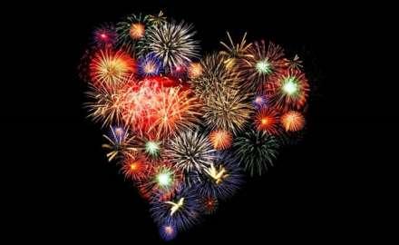 Itt Szilveszter és a tűzijáték ideje...